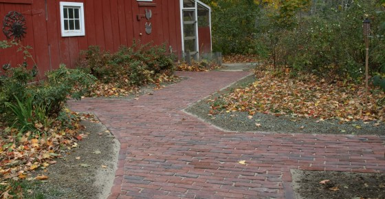 Reclaimed, Used Brick, Cobblestones and Curbing