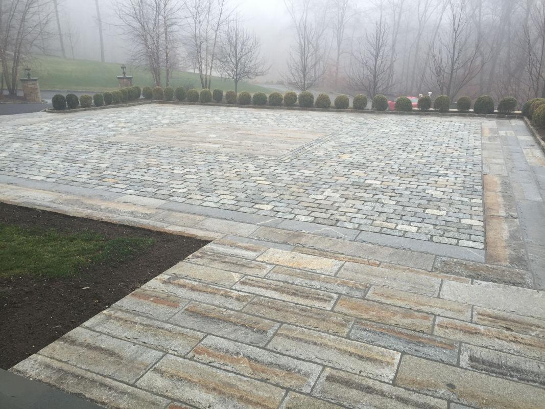 Reclaimed Granite Curbing | Experienced Brick and Stone