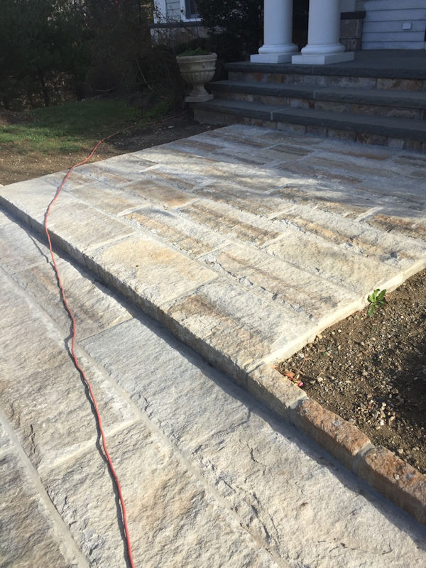 Reclaimed Granite Curbing | Experienced Brick and Stone