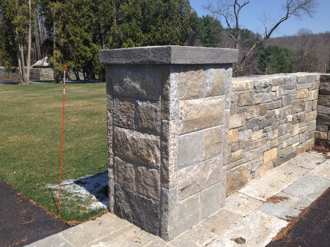 Reclaimed Granite Curbing   Experienced Brick and Stone