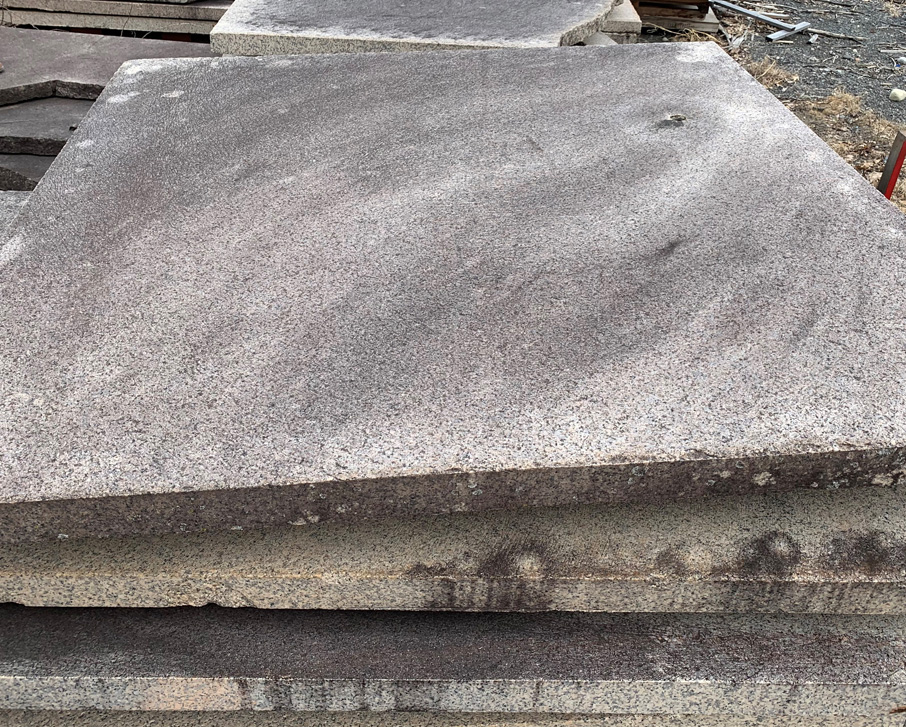 Antique granite stone with unique character will add value to your property.